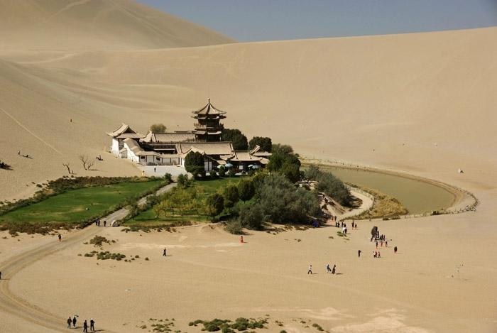 construire dans le désert