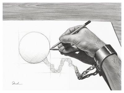 auto-emprisonnement